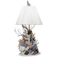 Pair of Blue Ridge Coral Lamps