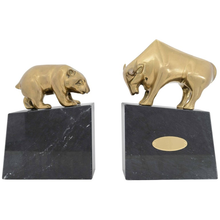 Pair of American Art Deco Bookends