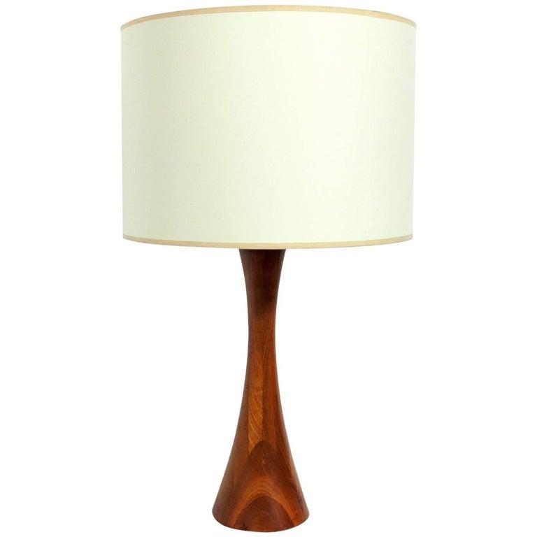 Phillip Lloyd Powell Wood Lamp