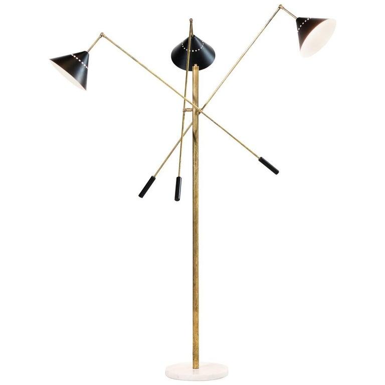 Modern Italian Floor Lamp Re-Edition