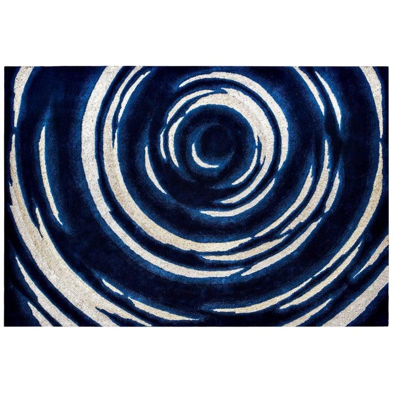 'Encyclie' Hand-Tufted Area Rug by Ulrika Liljedahl & Pinton For Sale