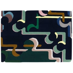 'Element' Hand-Tufted Area Rug by Elsa Poux & Pinton