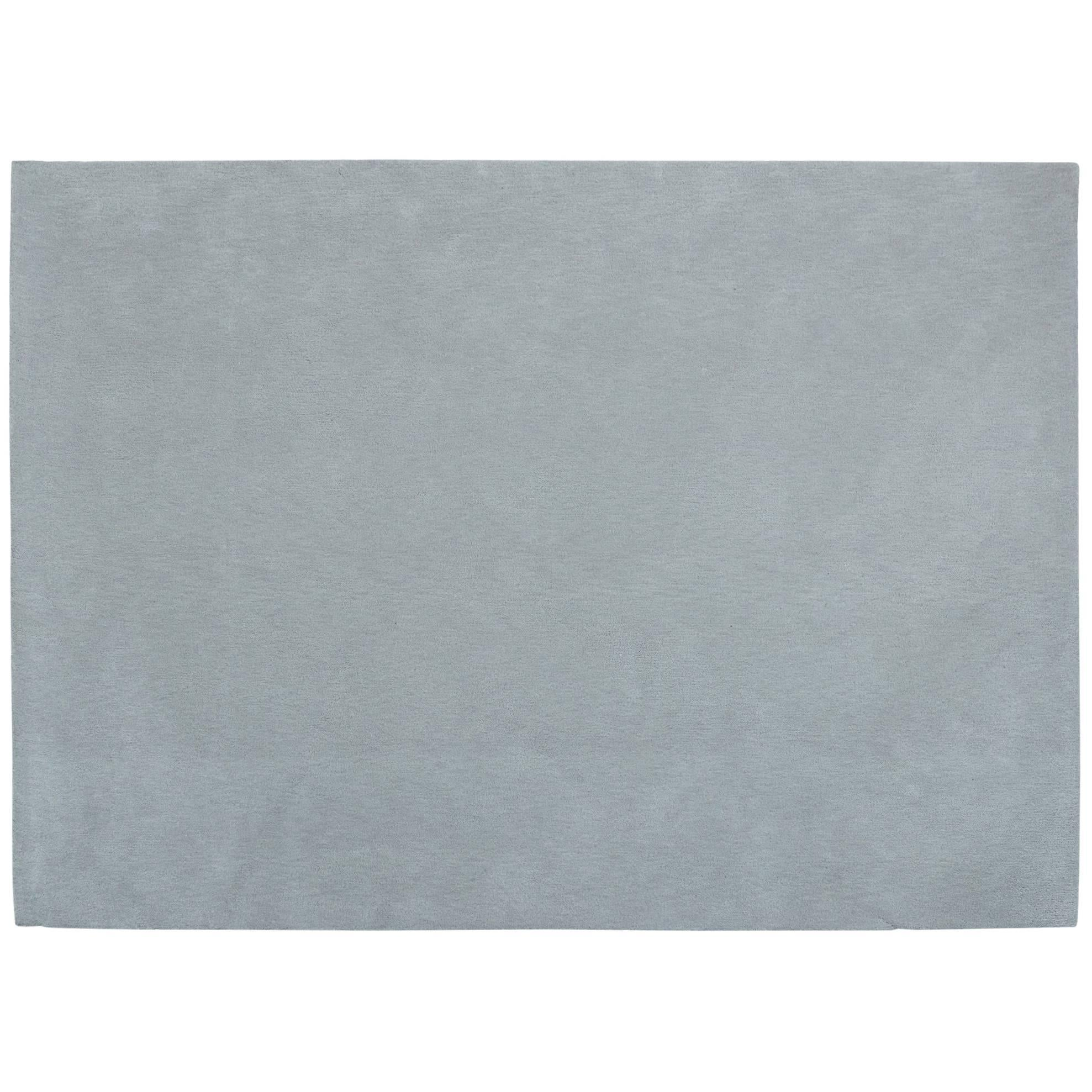 'Gris Pinton' Hand-Tufted Area Rug in Grey by Pinton