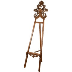 Wooden Easel, 19th Century