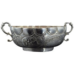 """Silver """"Bernegal"""" 'Drinking Cup' Portugal, 19th Century"""