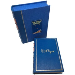 """""""The Great Gatsby"""" by F. Scott Fitzgerald, First Edition in Full Leather"""