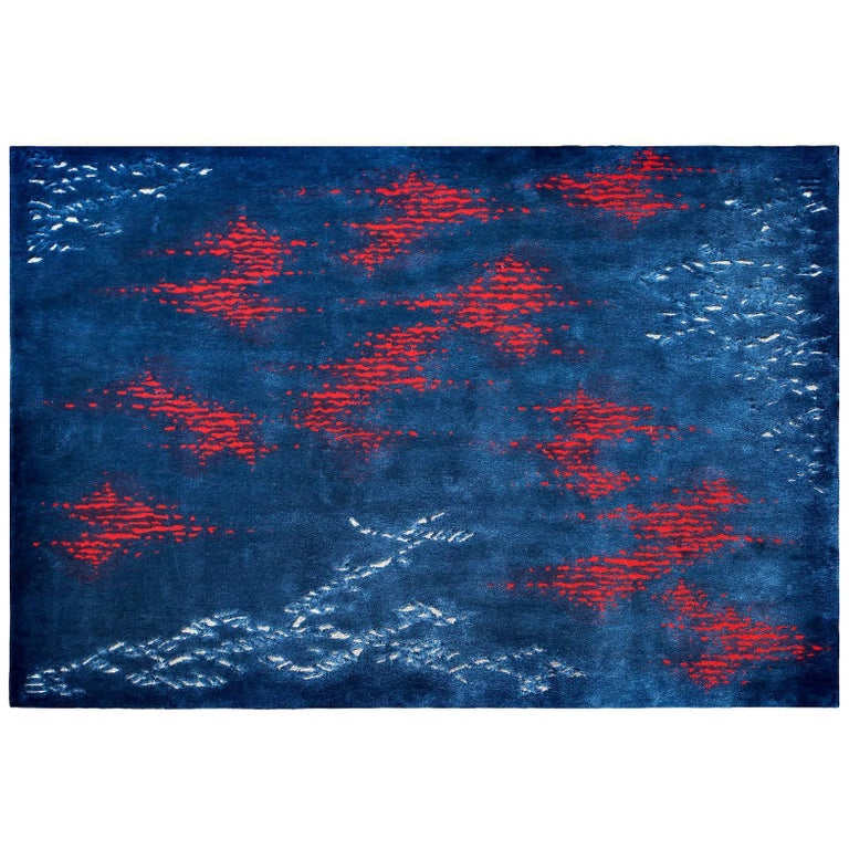 'Octocorallia' Hand-Tufted Area Rug by Ulrika Liljedahl & Pinton For Sale