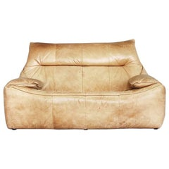Leather the Rock Sofa by Gerard Van Den Berg for Montis, 1970s