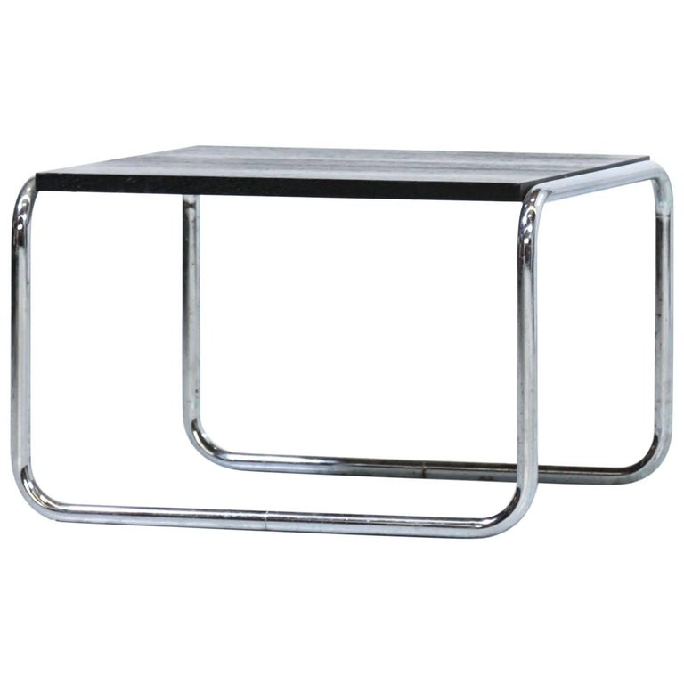 Coffee/Side Table in the Style of Marcel Breuer Bauhaus Design, Germany