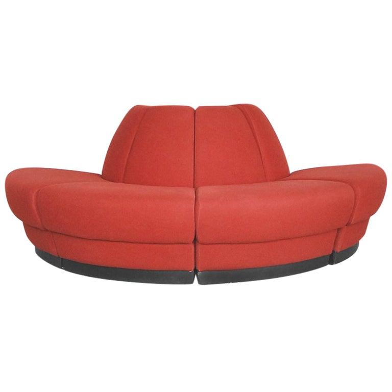 Space Age Modular Danish Sofa from Kinnarps