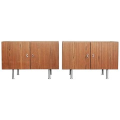 Rosewood Danish Sideboards, 1970s, Set of Two