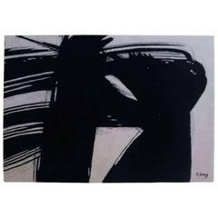 "Artist Rug ""Twins"" Designed by Roswitha Doerig"