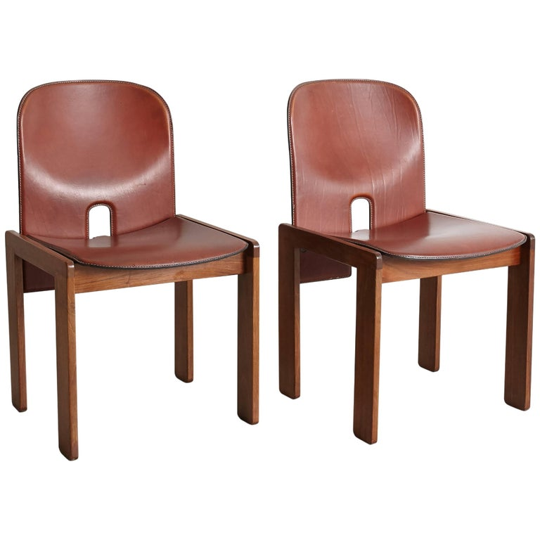 Pair of Tobia Scarpa Dining Chairs