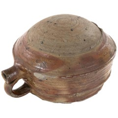 Earthenware Salt Glazed Turtle Salt Bottle