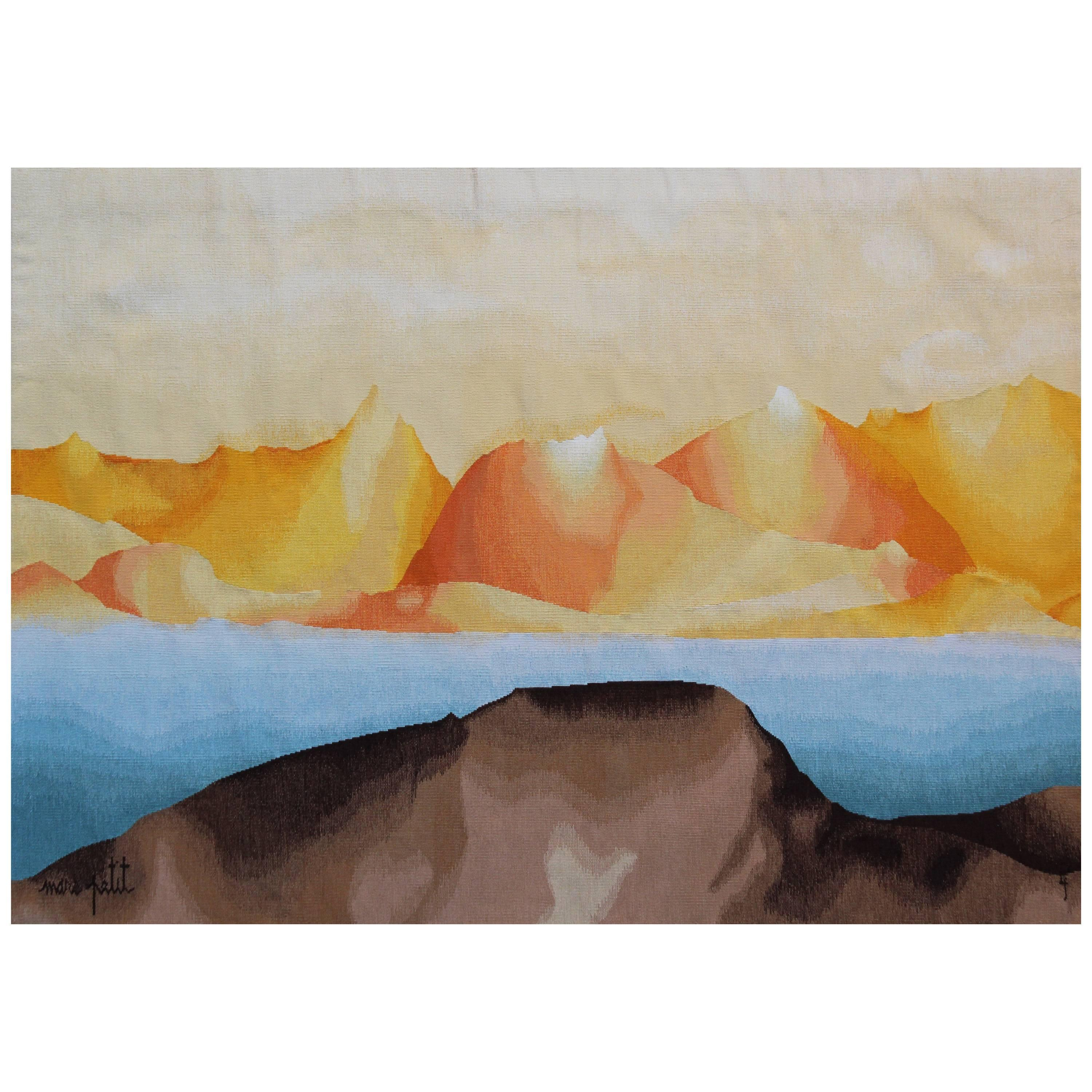'L'Œil Respire' Wall Tapestry by Marc Petit & Pinton