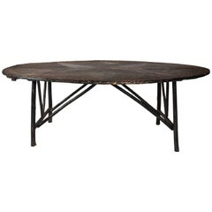 Oval Twig Dining Table