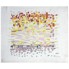 'Soleil Urbain' Wall Tapestry by Courroy & Pinton
