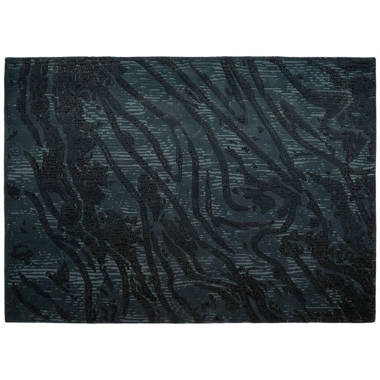 'Tastamie' Hand-Tufted Area Rug by Marguerite Lemaire & Pinton For Sale