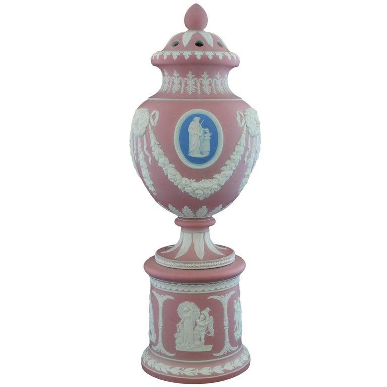 Potpourri Vase, Tricolor, Dudson, circa 1850 For Sale at 1stdibs
