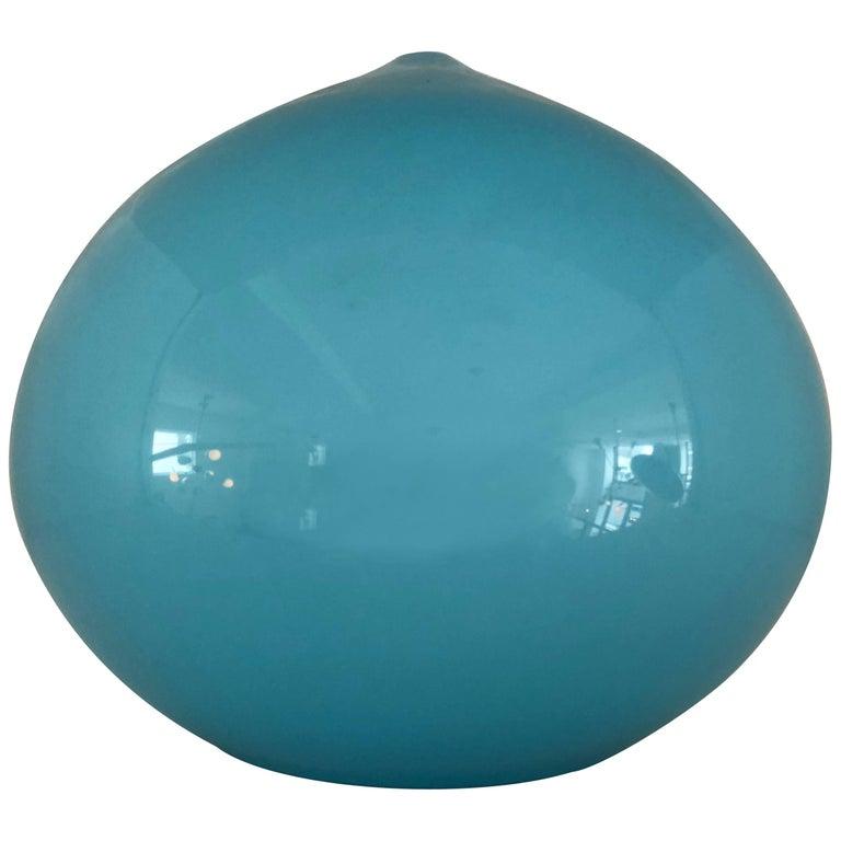 Blue Glass Pendant by Vistosi