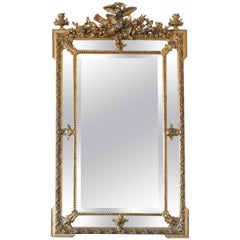 Louis Philippe Mirror with Beveled Glass