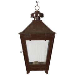 English Tole Lantern