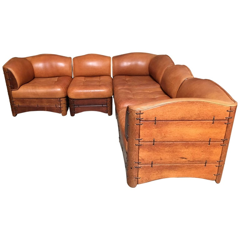 Modernist Sectional Sofa by Pacific Green