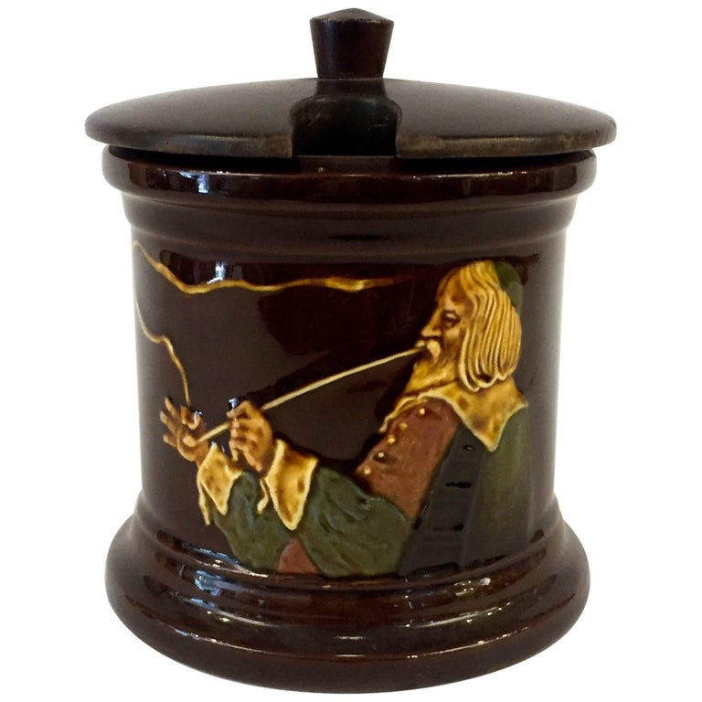 Royal Doulton Kingsware Tobacco Box with Lid