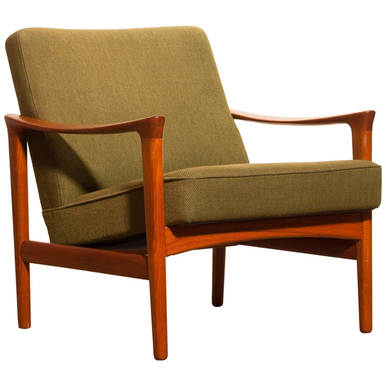 1960s, Teak Lounge Chairs by Erik Wørts for Bröderna Andersson