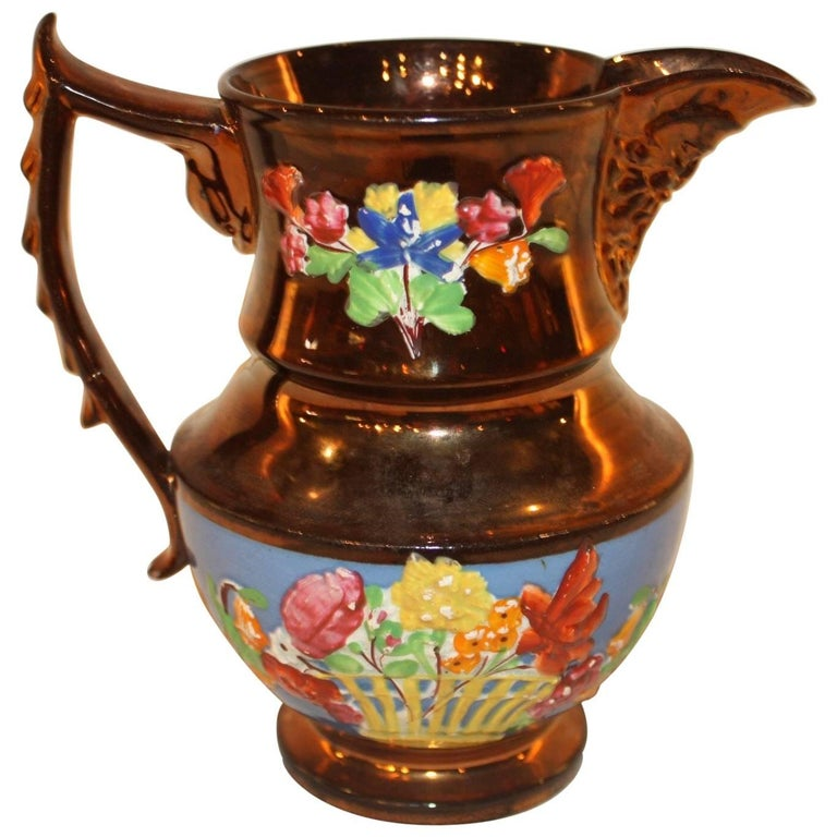 19th Century French Pitcher For Sale