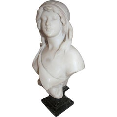 19th Century French Marble Bust