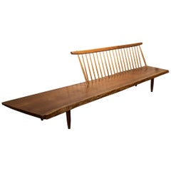 Conoid Bench by George Nakashima, American Walnut, circa 1960s