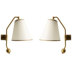 Pair of French Royère Style Sconces