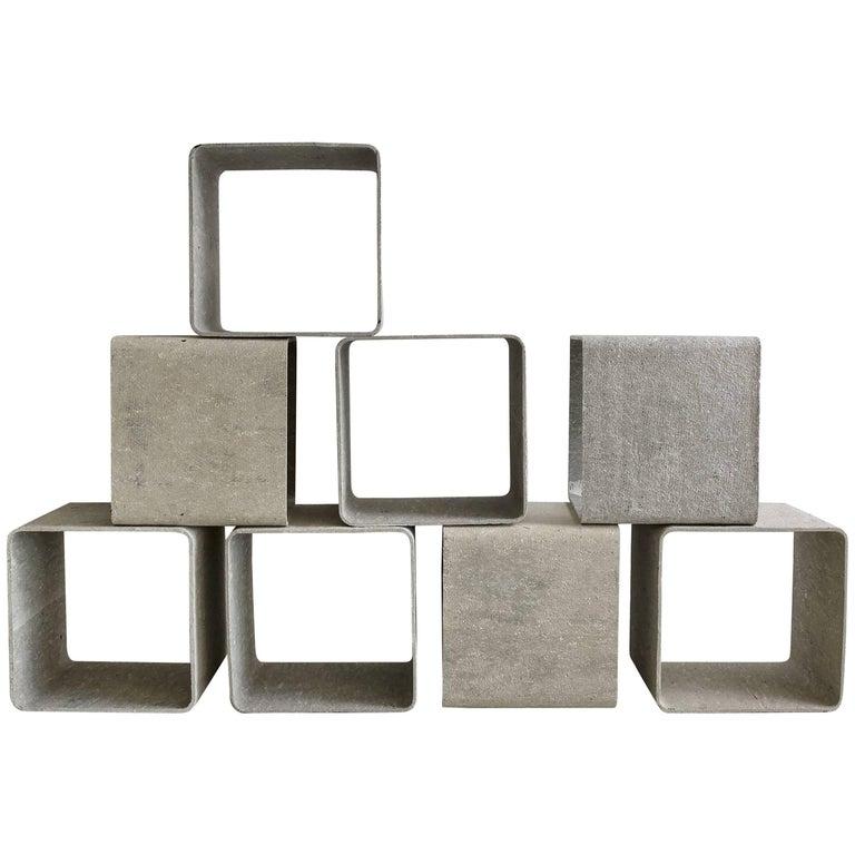 Willy Guhl Modular Square Cubes
