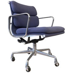 Eames for Herman Miller Aluminum Group Soft Pad Management Chair