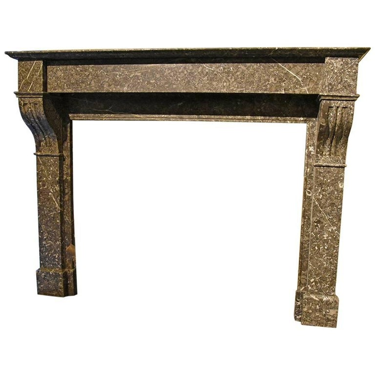 antique marble fireplace mantels. Antique Marble Fireplace Mantel  19th Century For Sale At 1stdibs