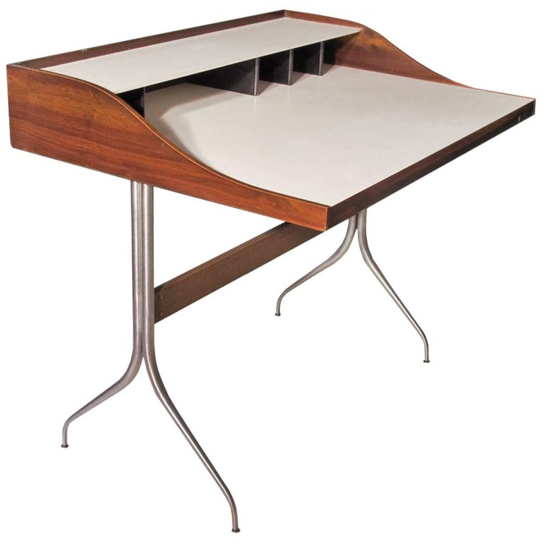 George Nelson Design, Desk 1958, Produced by Herman Miller For Sale