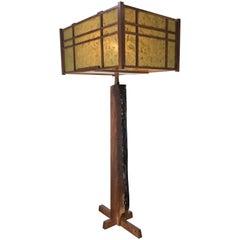 Griff Logan Workshop Studio Bench Made Free Edge Table Lamp