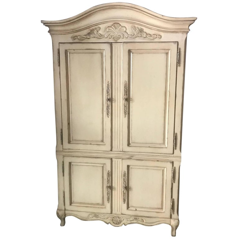 Century Burl-Wood And Lacquered Armoire For Sale At 1stdibs