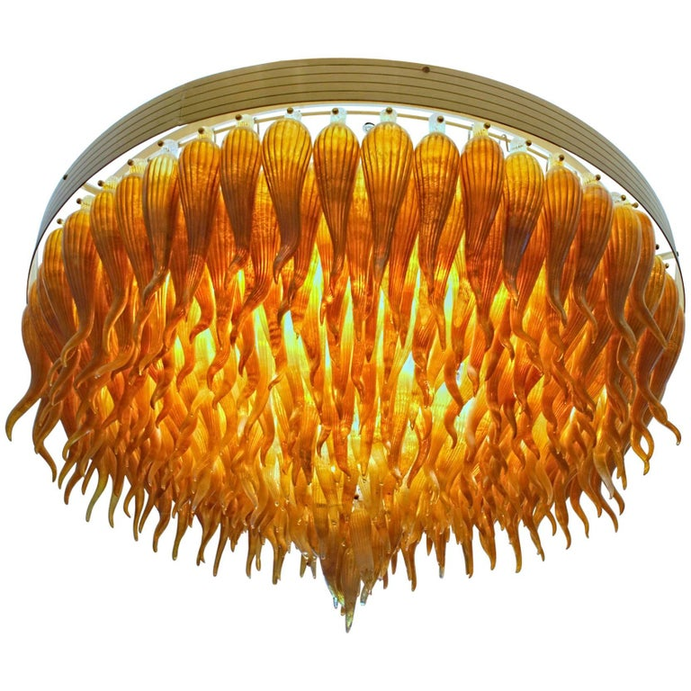 Pino Signoretto, Chandelier in the Laguna Style, circa 2005