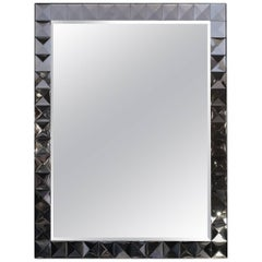 Large Italian Bordered Mirror