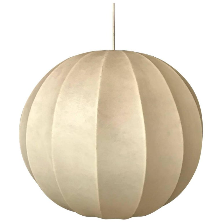 1960, Nelson and Noguchi Period Hanging Lamp
