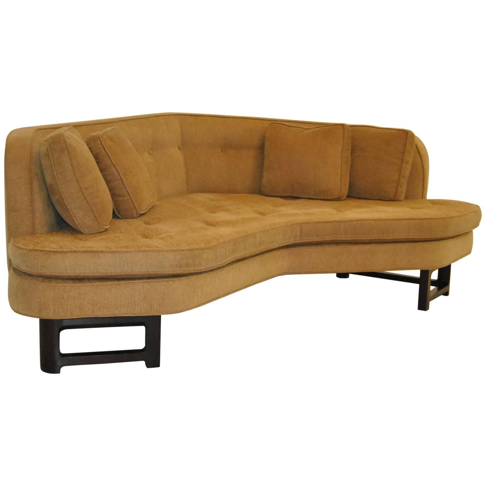 Mid century modern furniture Wood Midcentury Modern Sofa By Edward Wormley For Dunbar Furniture Janus Collection For Sale 1stdibs Midcentury Modern Sofa By Edward Wormley For Dunbar Furniture Janus