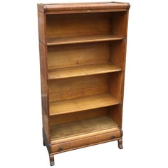 Globe Wernicke Four Stack Open Oak Barrister Book Case