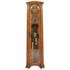Rare Art Nouveau Clock by Georges Ernest Nowak