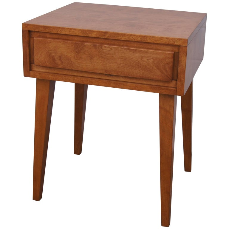 Modernmates Birch Nightstand by Leslie Diamond for Conant Ball