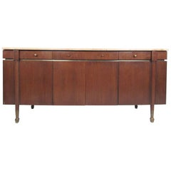 Vintage Travertine Top Sideboard by Paul McCobb