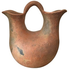 1970s Terracotta Pitcher from Oaxaca