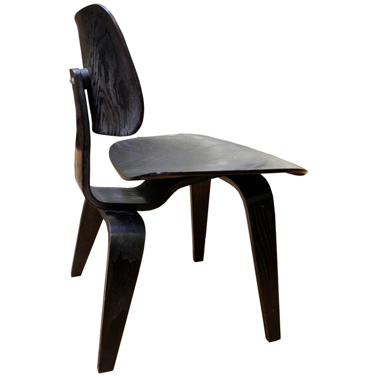 DCM Molded Plywood Dining Chair Designed by Charles Eames for Herman Miller
