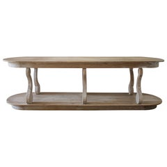 Custom Made Reclaimed Wood Console Table